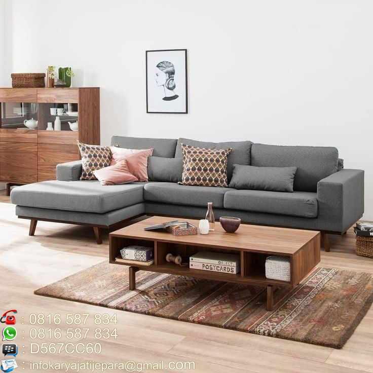 Kursi Tamu Sofa Retro Kayu Jati Murah Furniture Jepara