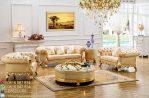 Kursi Tamu Sofa Eropa Gold Modet Terbaru Jepara