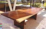Meja Meeting Kayu Trembesi Solid Modern