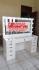 Meja Rias Artis Lampu LED Terbaru Warna Putih