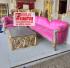 Set Kursi tamu sofa Sudut Modern Murah