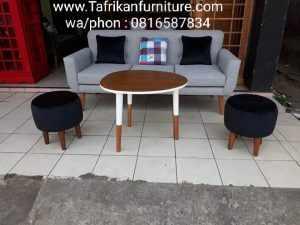 Kursi Tamu Sofa Stoll Shabby Modern Murah